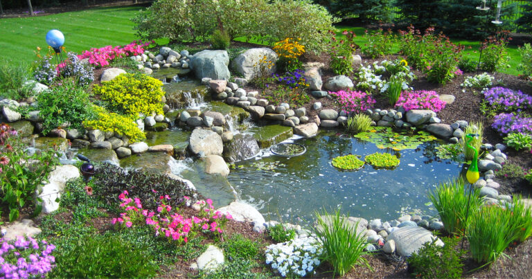 Landscape_Plantings_Waterfall_Feature